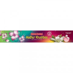 Madhur Khushboo (20 Gm) Incense Sticks