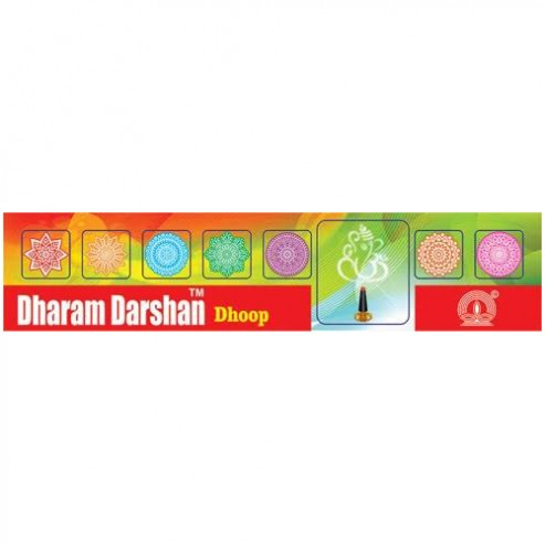 D.D. 25 Gm/27pcs Roll Dhoop