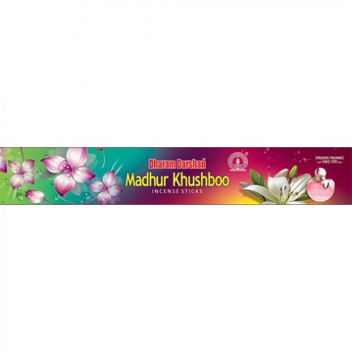 Madhur Khushboo (20 Gm) Incense Sticks